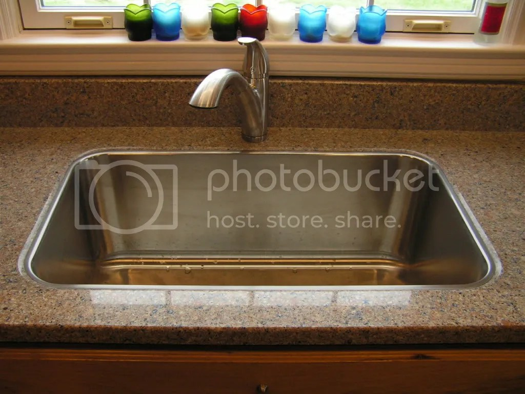 Nobody Does Drop In Sink On Stone Countertop Really