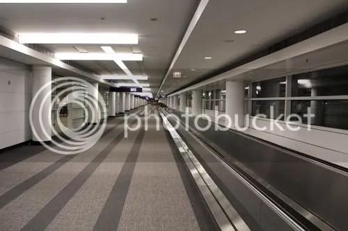 Chicago O'Hare Airport Corridor