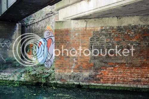 Hackney Wick Canal Graffiti 19