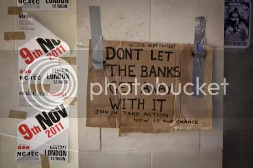 Occupy St Paul's London Camp 1