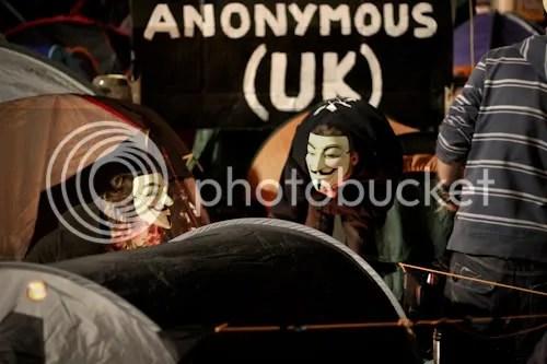 Occupy St Paul's London Camp 18