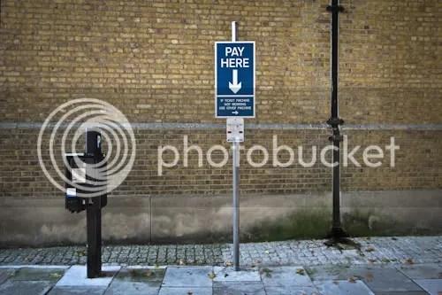 Slightly Strange Sign London 1