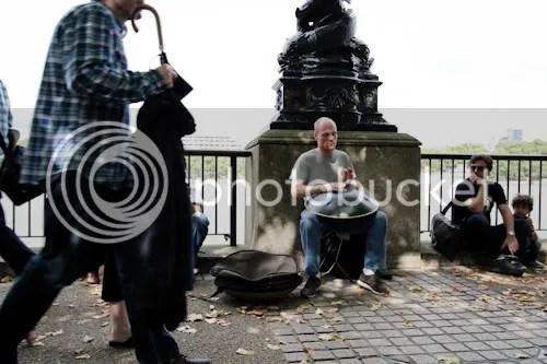 Southbank Thames Festival Hang Drum Player 5