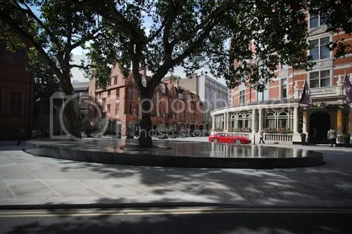 Tadao Ando Silence Fountain Connaught London 6