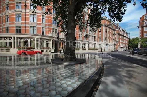 Tadao Ando Silence Fountain Connaught London 8