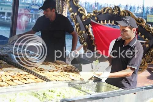 トルコ Istanbul Bosphorus サバサンド 6