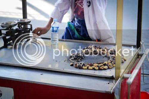 Istanbul Street Vendor Chestnuts Corn 3