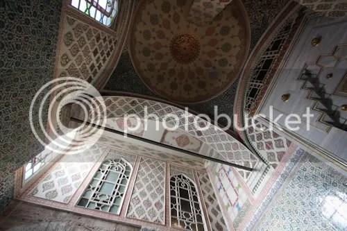 Istanbul Topkapi Palace Harem 14