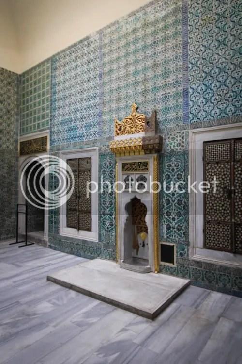 Istanbul Topkapi Palace Harem 24