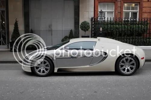 Bugatti Veyron Claridges 1