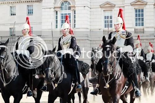 Family Visit London Horse Guards 2
