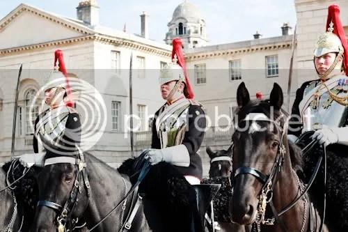 Family Visit London Horse Guards 3