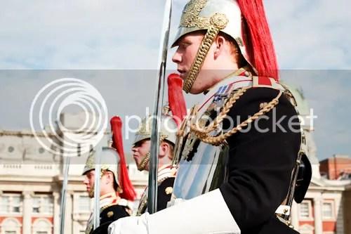 Family Visit London Horse Guards 5