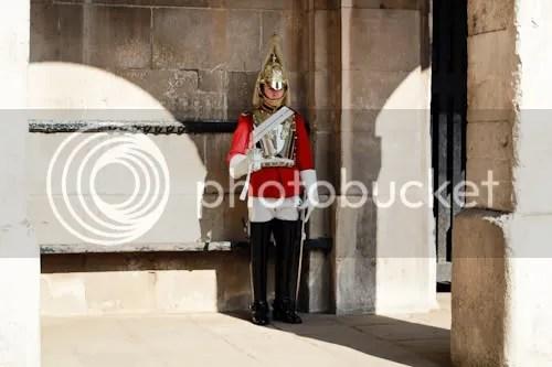 Family Visit London Horse Guards 9