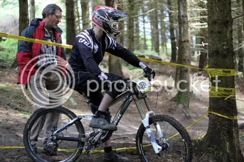 Hopton Castle Downhill Mountain Bike Mikey 7