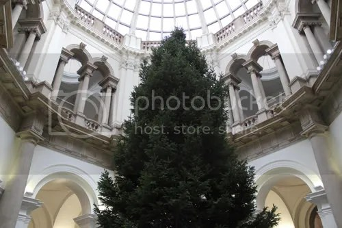 Tate Britain Christmas Tree