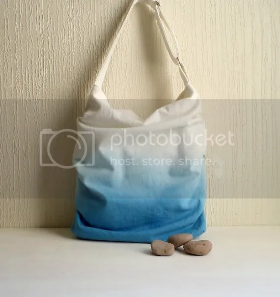 ombre slouch tote