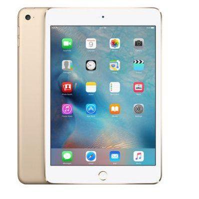 Планшетный ПК Apple iPad Mini 4 16Gb Wi-Fi + Cellular Золотистый MK712RU/A (MK712RU/A)