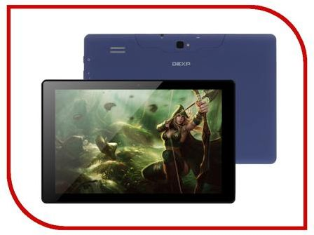 Планшет DEXP Ursus P110 (Quad-Core 1.3GHz/1024Mb/16Gb/3G/Wi-Fi/Bluetooth/Cam/10.1/1280x800/Android)
