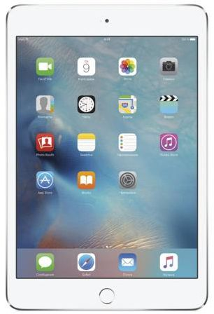 Планшет Apple iPad mini 4 Wi-Fi +Cellular 16GB Silver MK702RU, A
