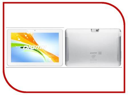 Планшет Digma Plane 10.3 3G Silver White (MTK8382 1.3 GHz/1024Mb/8Gb/GPS/Wi-Fi/3G/Bluetooth/Cam/10.1/1280x800/Android) 875366