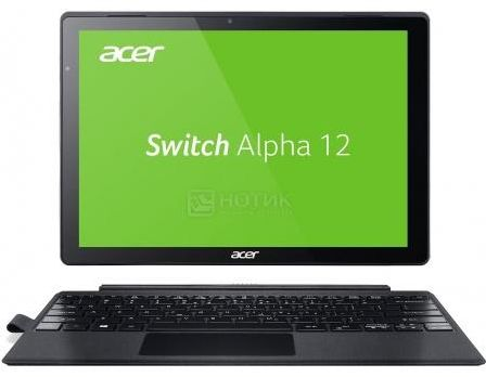 Планшет Acer Aspire Switch Alpha 12 Dock (MS Windows 10 Home (64-bit)/i5-6200U 2300MHz/12.0' (2160x1440)/8192Mb/128Gb/ ) [NT.LCDER.007]