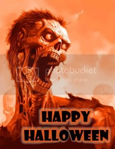 Scary Skeleton Happy Halloween Pictures, Images and Photos