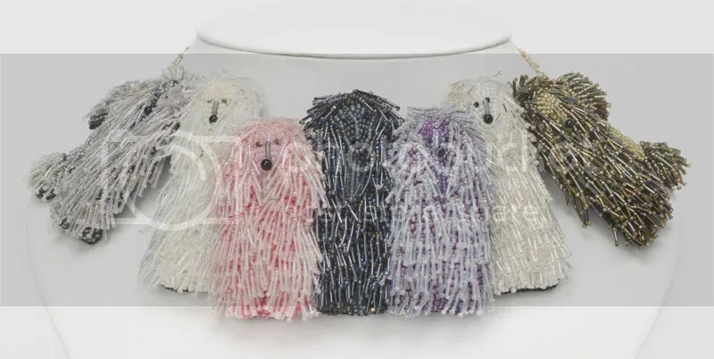 Bead Dreams People Choice Award 2013 Bead & Button Show Bead embroidery poodle collar necklace