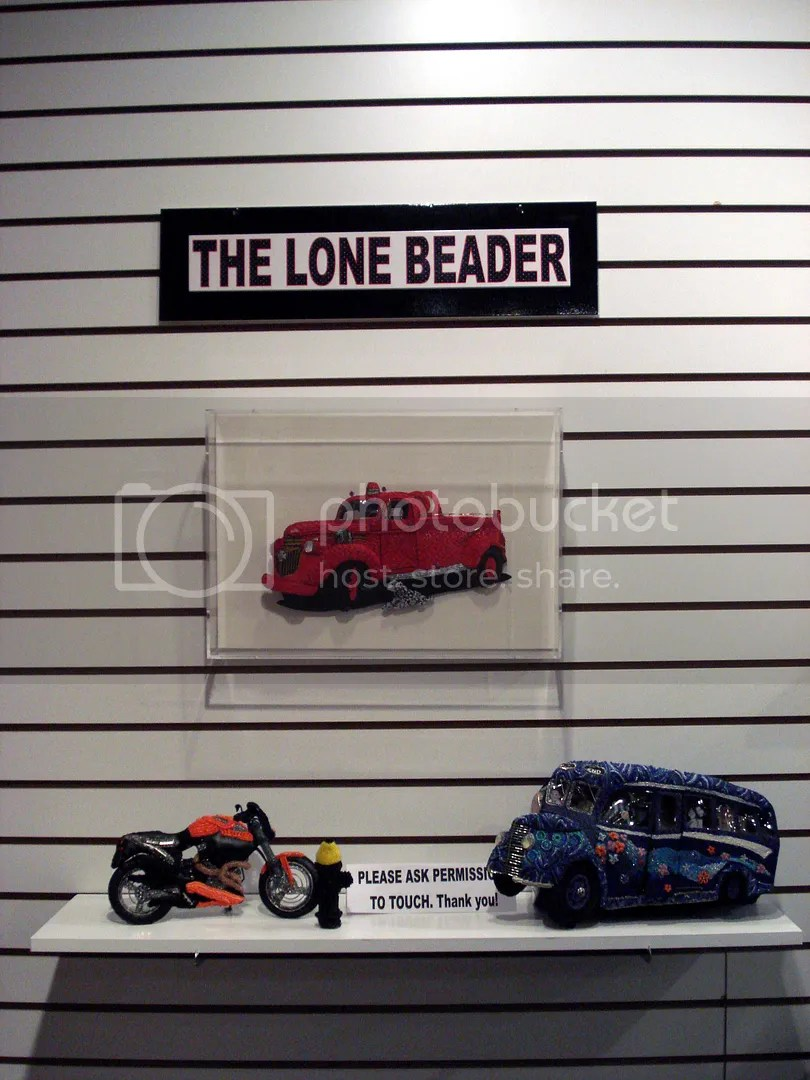 the lone beader christy puetz bead + fiber gallery boston bead shop artist exhibition south end SoWa