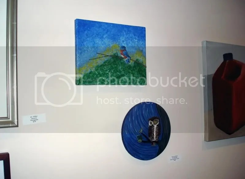 bead painting Cambridge Art Association Art Fair University Place lone beader Boston mixed media artist