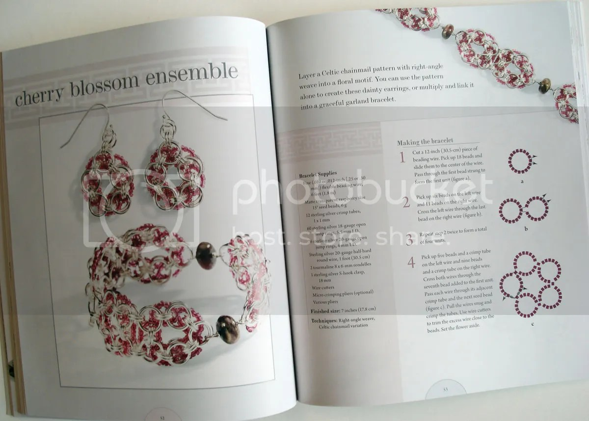 beadweaving chainmaille Cindy Thomas Pankopf Beadmaille beading beadwork bead embroidery jewelry making Lark books