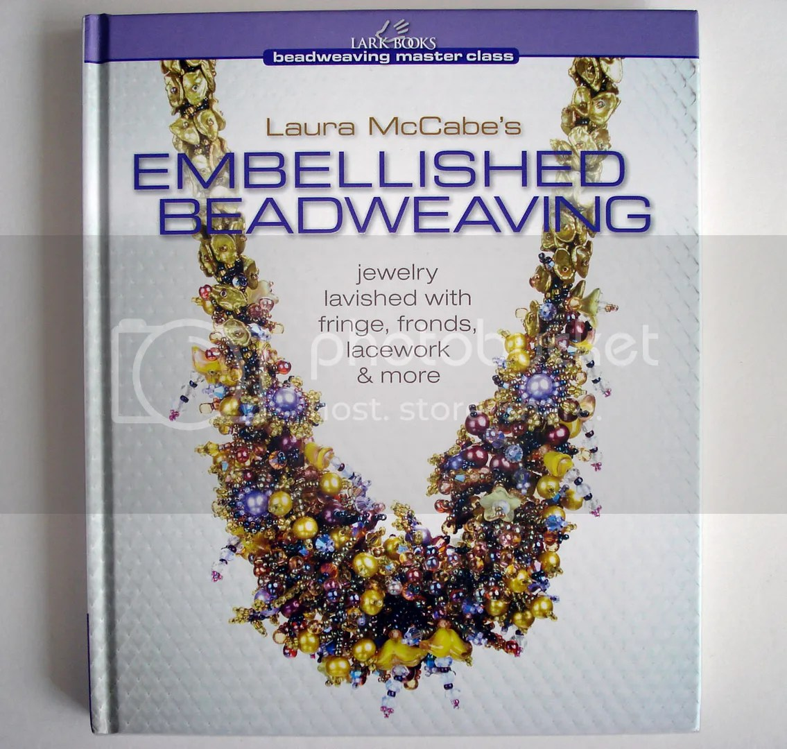 Lark Books blogaversary giveaway Laura McCabe Beaded Embellishment artist beading beadwork bead embroidery jewelry making book
