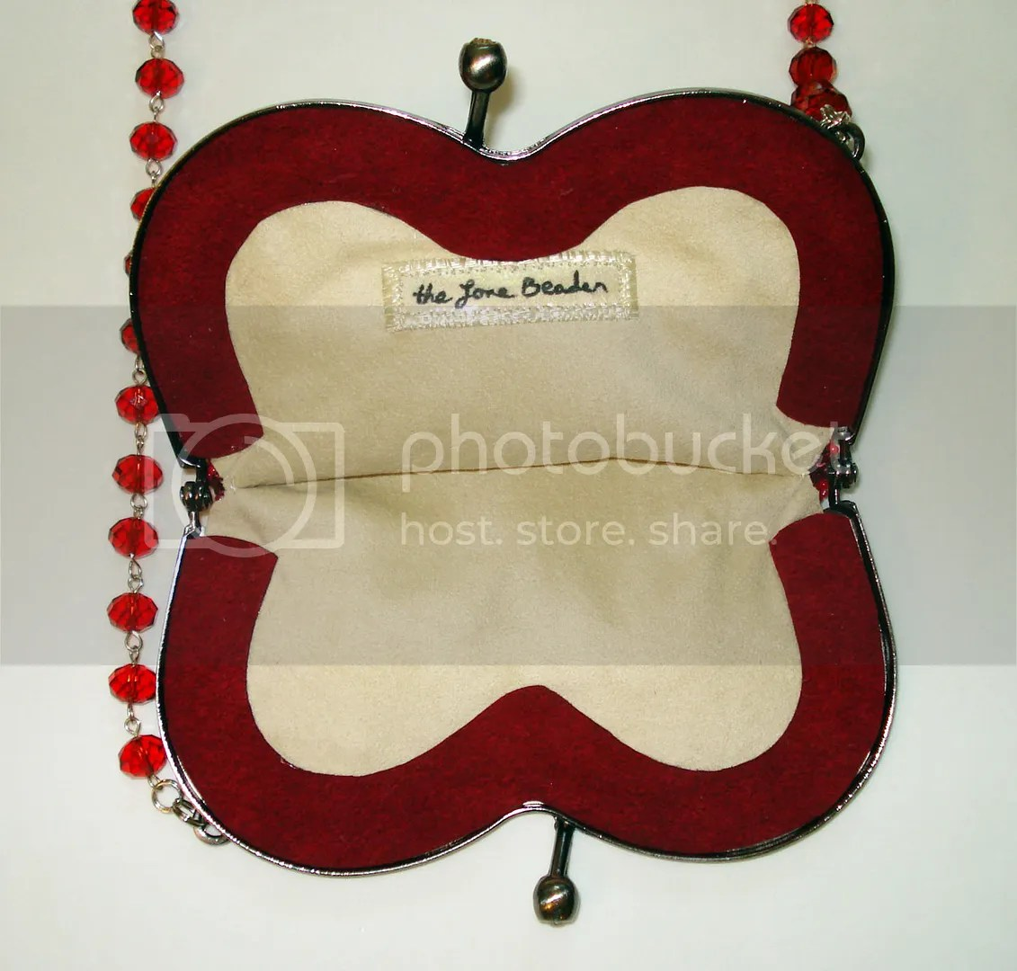 beaded heart-shaped purse etsy custom order ultrasuede Valentine's  Day Scottie Dog