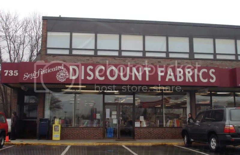 sew-fisticated discount Fabrics Dorchester Boston store bead embroidery beading blog