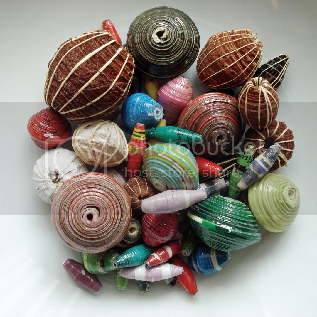 mzuribeads handmade paper beads uganda africa UK bead shop