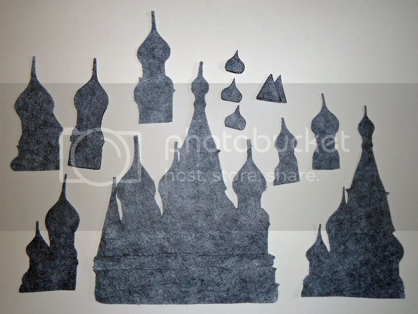 beaded St Basils Cathedral felt Moscow Russia beadwork bead embroidery etsy painting