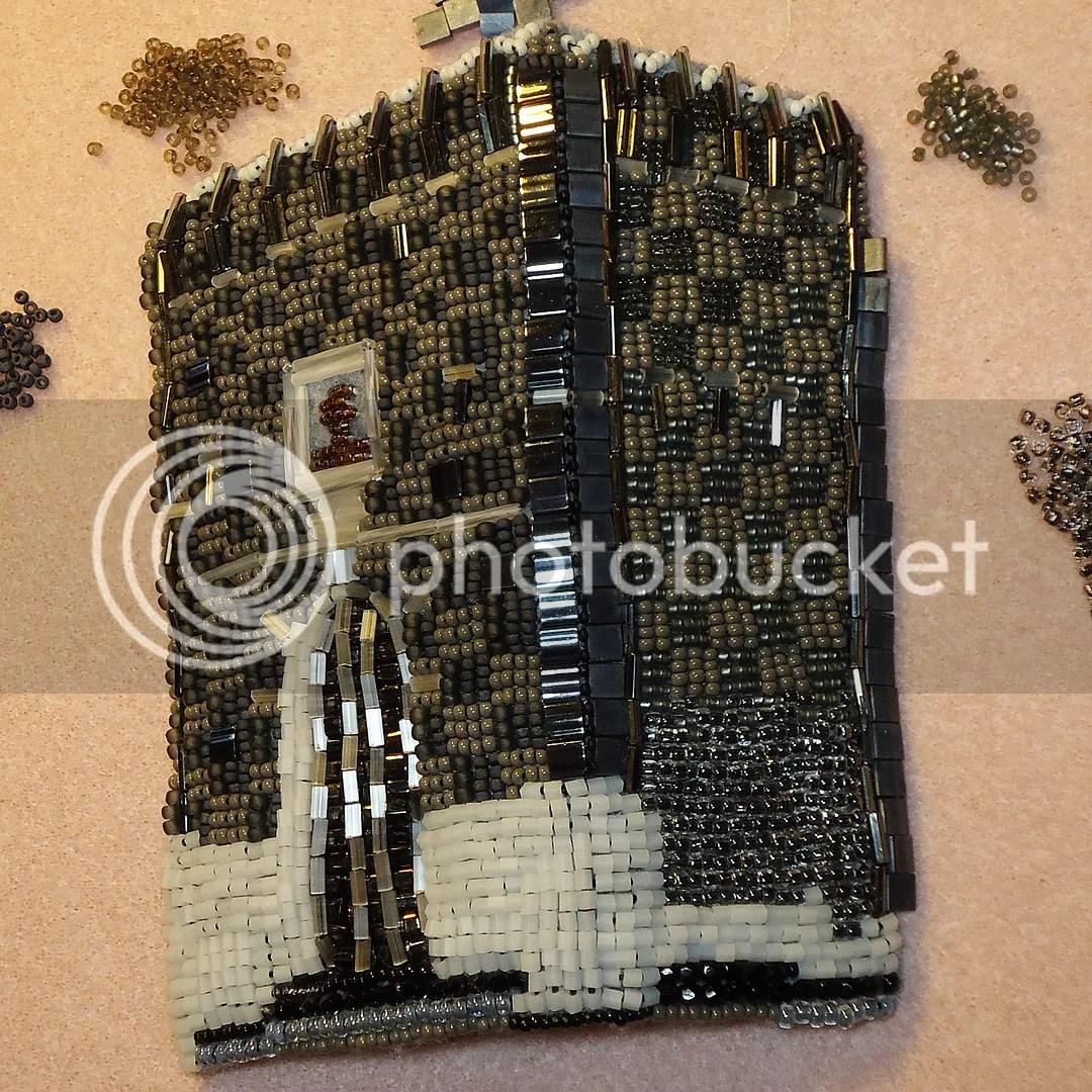 bead embroidery Kremlin Russia bead painting beadwork beading beads