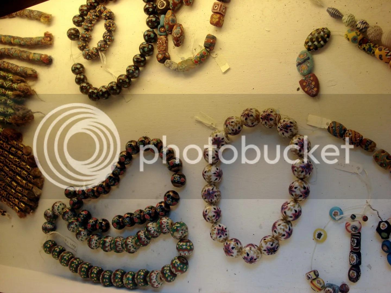 bead factory travel italy murano glass museum venice venezia embroidery venetian beads mille fiori