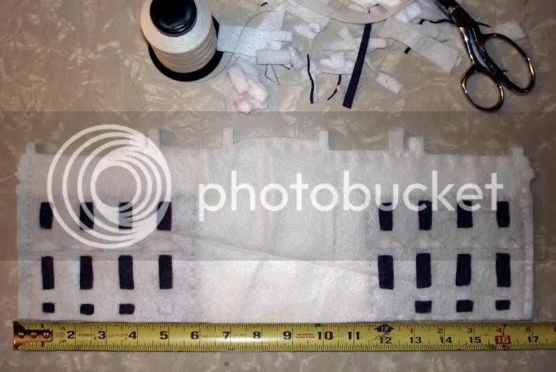President Barack Obama felt White house fiber pop art bead embroidery beading blog