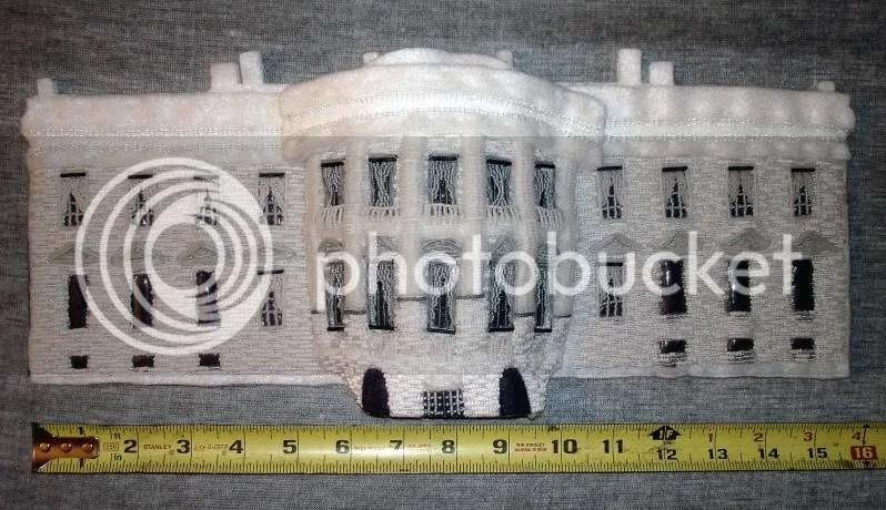 beaded White House President Barack Obama change bead embroidery pop art beadwork beading blog
