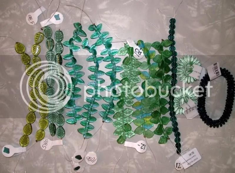 beaded White House vintage West German glass beads Barack Obama pop art beading beadwork blog