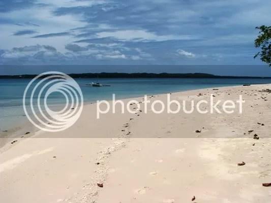 virgin beach, off the bantayan coast