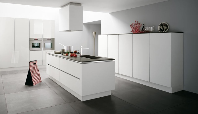 carrelage cuisine gris et blanc venus