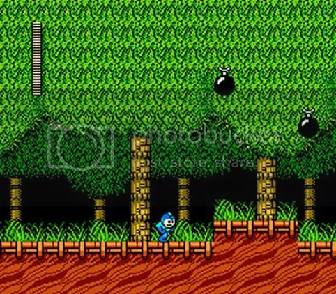 Woodman-banan, Mega Man 2.