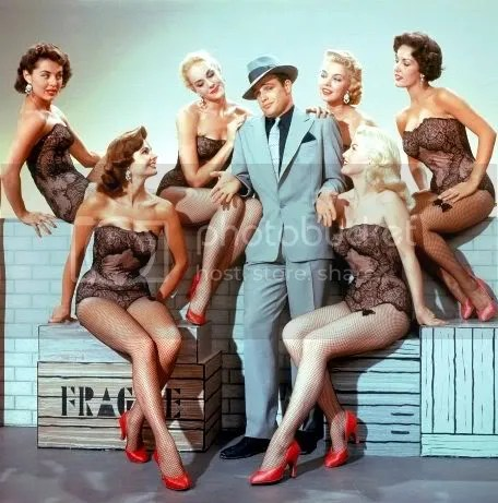 Marlon Brando & The Goldwyn Girls-Guys & Dolls
