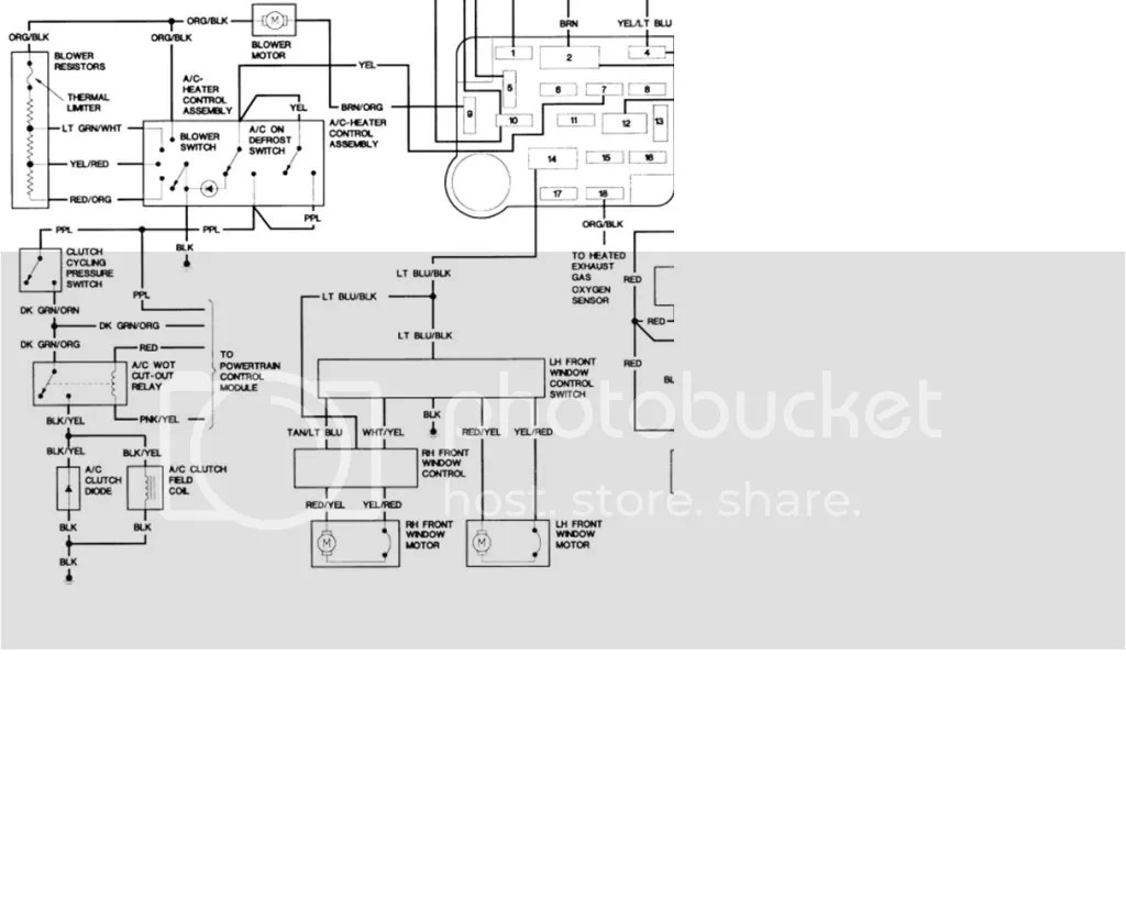 Ford F150 Air Conditioning Wiring Diagram