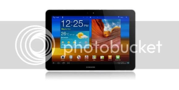 Galaxy Tab 10.1 Front