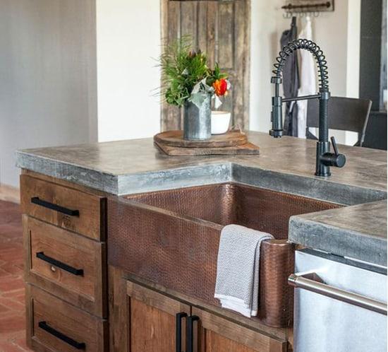 10 bold black kitchen faucet designs