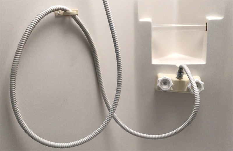 how to replace an rv shower faucet