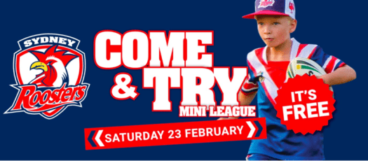 Sydney Roosters Come and Try Day